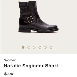 Frye Natalie Engineer Short Boot Sz 9